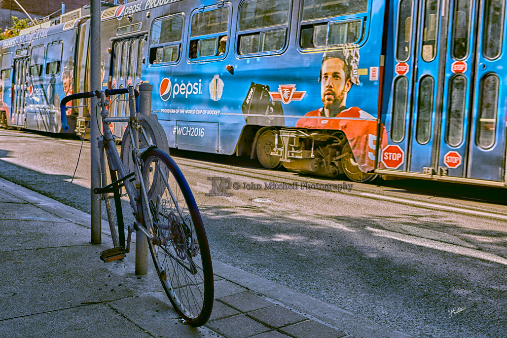 I did not know there were so many people using bicycles to get around in Toronto.