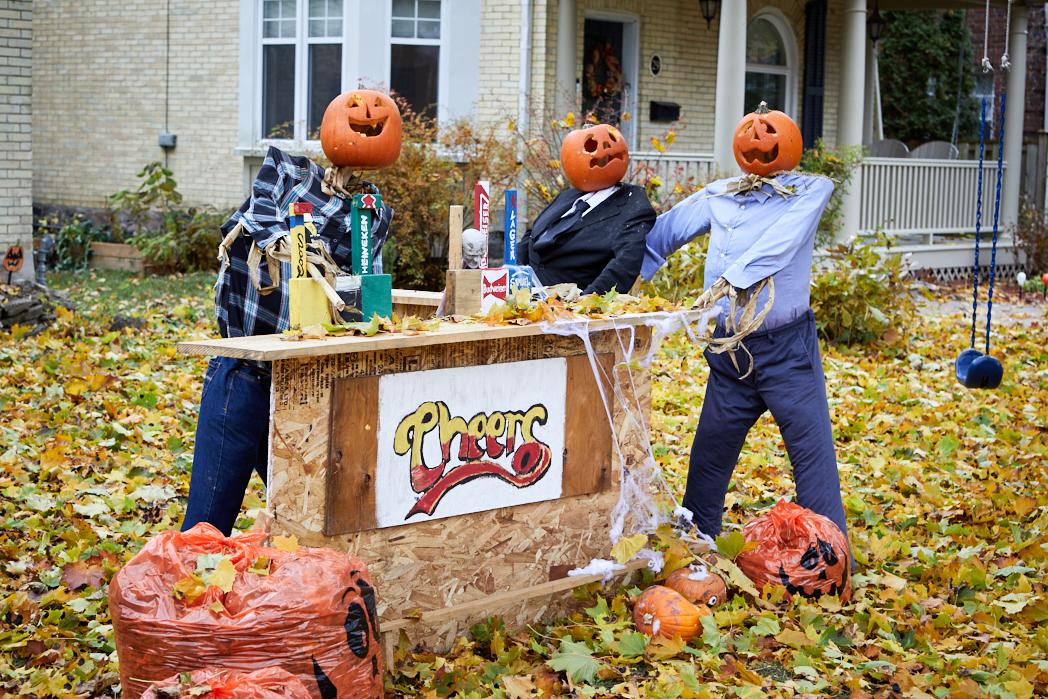 Halloween in West Galt